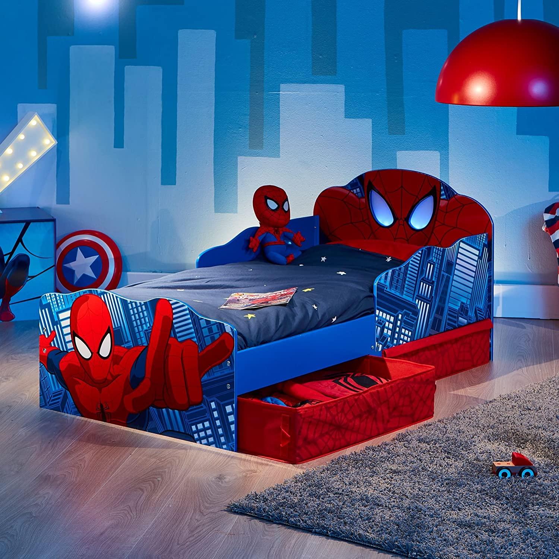 lettino spiderman